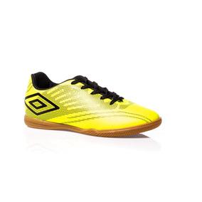 Queimão Tênis Futsal Umbro Falcão Amarelo Chuteira Futebol ... e22d4c293d8b1