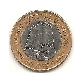 Moedas-nacionais-moedas-comemorativas-40 Anos Bacem