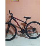 Bicicleta Mtb Ox Bike Aro 29 Glide Tam 17 Vermelha