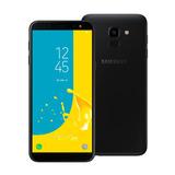 Samsung Galaxy J6 Preto, Tv Digital Hd, 64gb, 2gb Ram, Tela