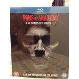Box Blu Ray Sons Of Anarchy A Coleção Completa 23 Discos