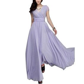 a53b9f3cc Vestido Para Dama De Honor Vino Plus - Vestidos de Mujer Violeta ...