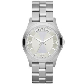 Reloj Marc By Marc Jacobs Baby Dave Correa Plata
