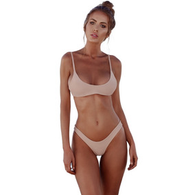 Nuevo Sexy Mujeres Bikini Set Traje De Baño Empujar Arriba