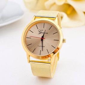 024b9f45ef0 Relogio Unissex Geneva Quartz - Relógios no Mercado Livre Brasil
