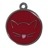 Placa Identificativa De Gato Para Grabado Pethome
