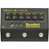 Tech21 Sansamp Bass Driver Programable 3 Canales - Cuotas