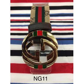 82e8320e0 Precio. Publicidad. Cinto Gucci Tela Hebilla Dorada Marca Cinturon Nuevo  Calidad