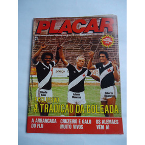 Placar 617 19 Março 1982 - Claudio Adao, Ademir M, Roberto D