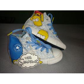 Converse E. Especial Los Simpsons #15 Mex