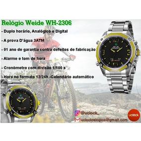 Relógio Masculino Weide Wh-2306 Anadigi Garantia De 01 Ano