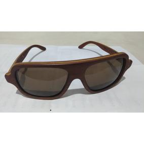 Óculos De Sol Leaf Em Madeira Feito À Mão - Óculos no Mercado Livre ... 0286d048c0