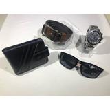 6f45d67c3ec03 1 Relógio Masculino + Carteira + Óculos + Cinto Qualidade