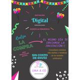Tarjeta De Invitación Tom Y Jerry En Mercado Libre Argentina