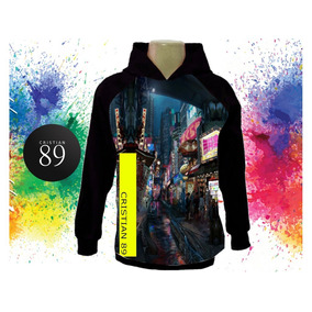 b8cd8b5a6a Blusa Moletom Raglan China Street Future Um