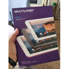 Tablet Multilaser M9 3g 9pol Novo Sem Uso