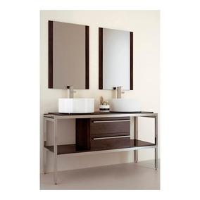 Gabinete Baño Lavabo Minimalista Espejo Gb 2033 26 Gravita