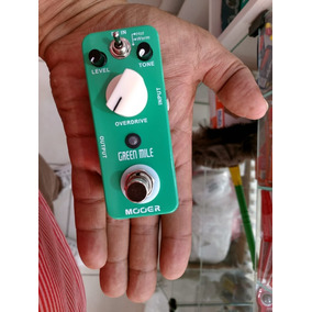 Micro Pedal Mooer Green Mile