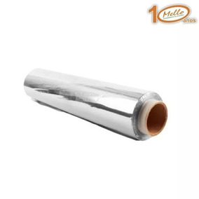 Rolo De Papel Alumínio 30 Cm X 100 Metros