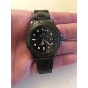 8c71d824612 Relógio Masculino Rolex Yachtmaster Black - Frete Grátis