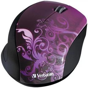 Mouse Verbatim 97783 Inalámbrico Purpura