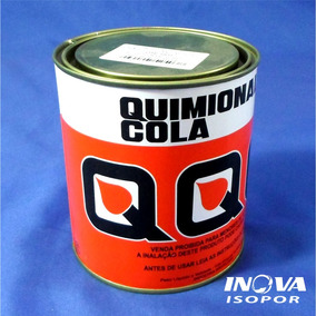 Cola De Contato Para Isopor Quimional 900 Ml Cola Na Hora!