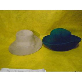118d3931bd43d Antiguos Sombreros Paño Hombre Y Mujer