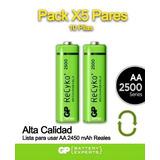 Pilas Recargables 1.2v 2500mah Gp De Alta Calidad
