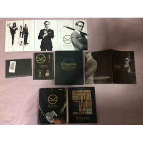 Kingsman The Secret Service Premium Edition Blu-ray Japão