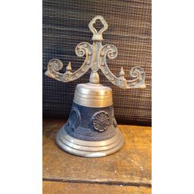 Campana De Bronce Antigua Colonial