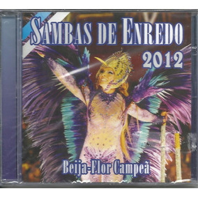 cd de sambas de enredo 2012