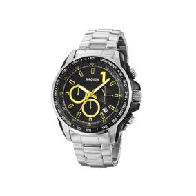 Relógio Magnum Masculino Prata Ma33648y Cronógrafo