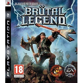 Jogo Brutal Legend Playstation 3 Ps3 Mídia Física Original