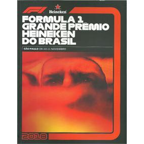 Revista Fórmula 1 Gp Brasil 2018