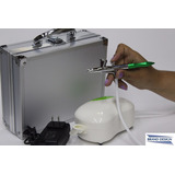 Aerografo Kit Brand Design Profesional Belleza C/ Compresor