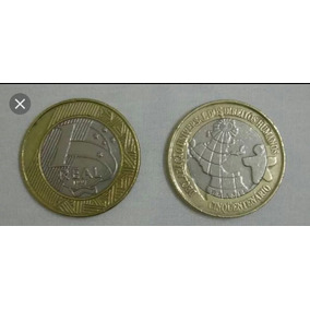 Moeda De Colecionador De 1 Real 1998 Cinquentenário