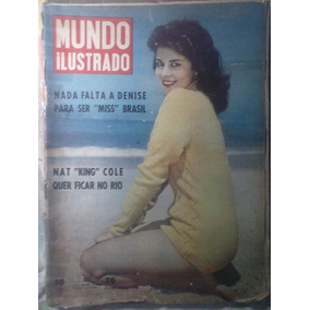 Revista Mundo Ilustrado - Miss-b * N° 70 - 1959