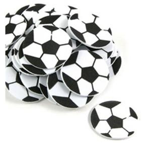 Balón Fútbol Fiesta Pelota Calcomanía Fomi Scrapbook Foami