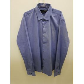 db7c729c7a6 Camisa Ogochi Masculina Social Slim Fit. R  262