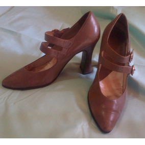 Tacon Piel Altos Pura 3536 Grueso Finos Beige Medio Zapatos qntcxfXSU
