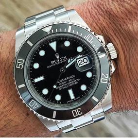 60c5a352df4 Replica Rolex De Luxo Masculino - Relógios De Pulso no Mercado Livre ...