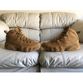 Botas Air Jordan Retro 9 Nrg Wheat Del 30.5mx