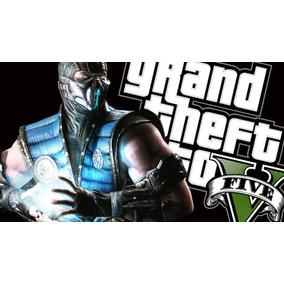 Pacote Gta 5 + Mortal Kombat 9 + Jogo Brinde Para Xbox 360