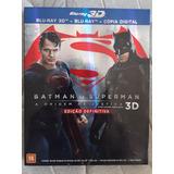 Blu Ray Batman Vs Superman - Edição Definitiva