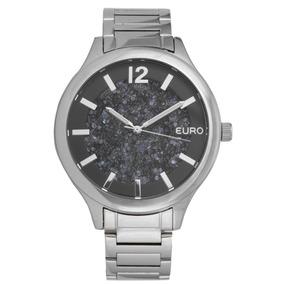 Relógio Euro Eu203ade/3p Prata Feminino
