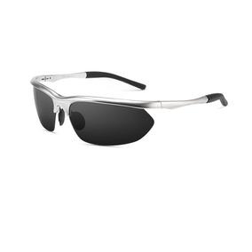 Óculos De Sol Masculino Prata Hd Crafter C  Proteção Uv 400 587600382a