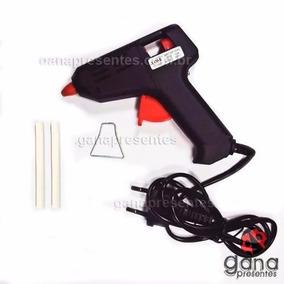 Pistola De Cola Quente Profissional!com 2 Colas3g
