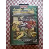 Juego Street Fighter Sega Génesis Excelente Estado