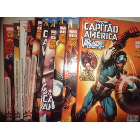 Capitao America E Os Vingadores Secretos 1 A 27 Panini Excel