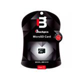 Memoria Micro Sd Blackpcs Clase4, 8 Gb, Negro